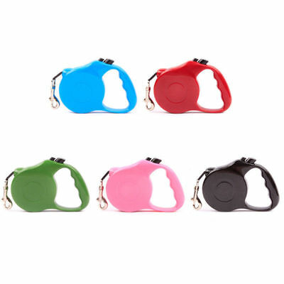 1Pc Retractable Dog Leash Large Medium Auto Lead Extendable Puppy Walking Collar