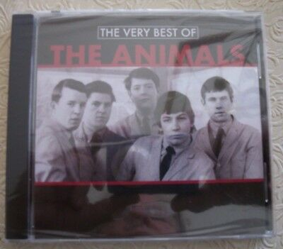 The Very Best of THE ANIMALS (New CD Unopened); 10 Songs; FREE SHIPPING