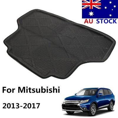 Rear Trunk Cargo Mat Boot Liner Tray Floor Pad For Mitsubishi Outlander 2013-17