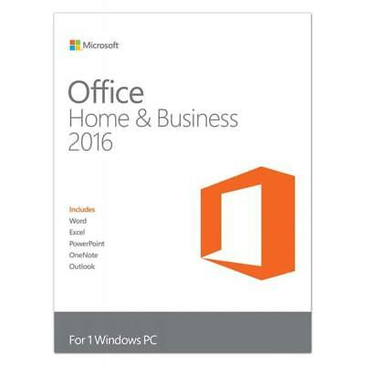 37536 Microsoft Office 2016 Home And Business (Pkc) Deutsch P2
