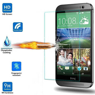 Genuine Real Tempered Glass Film Lcd Screen Protector Fit For Htc One /m8