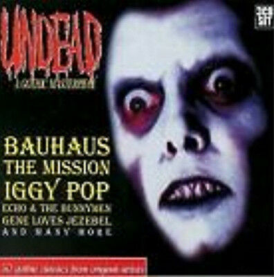 UNDEAD - 3CD Box - Iggy, Bauhaus, Mission, New Model Army, Bolshoi, Red Lorry...