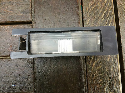 Fiat Grande Punto/evo N/s Rear Number Plate Light Lens 51762788 (2006-2012)