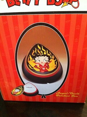 Betty Boop Angel / Devil Trinket Box 2001