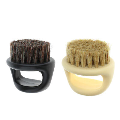 Bristle Salon Barber Hair Cutting Shaving Brush for Men Facial Neck Cleaning