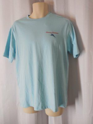 TOMMY BAHAMA T Shirt size Small blue No more Mr Ice Guy print NWT
