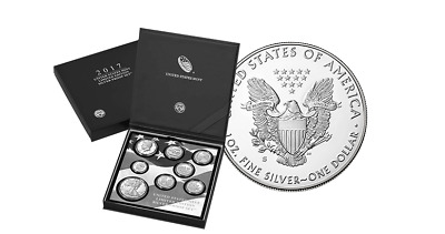 United States Mint Limited Edition 2017 Silver Proof Set