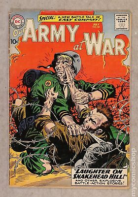 Our Army at War (1952) #84 GD- 1.8