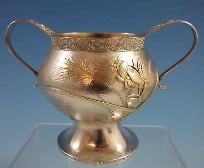 Persian by Tiffany & Co. Sterling Silver Sugar Bowl w/Applied Butterflies #1953