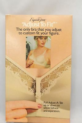 VTG Exquisite Form Bra NOS 40D NIB Adjust to Fit Beige 1970s P286
