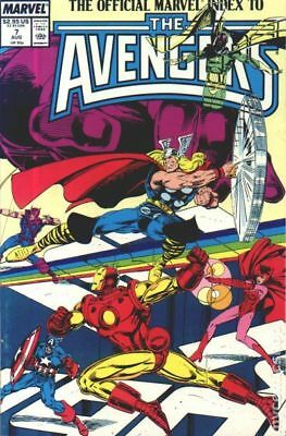 Official Marvel Index to the Avengers (1987) #7 VF STOCK IMAGE