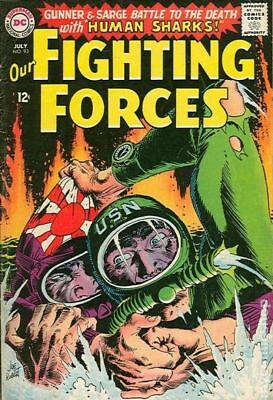 Our Fighting Forces (1954) #93 GD/VG 3.0 STOCK IMAGE LOW GRADE