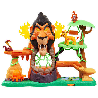 Disney Junior's The Rise of Scar Lion Guard Play Set Brand new boxed