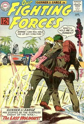 Our Fighting Forces (1954) #70 VG+ 4.5 STOCK IMAGE