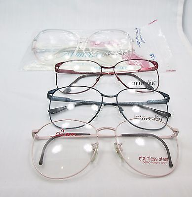 Mixed LOT of 25 Vintage Cira 1980 Glasses Eyeglass Frames Wholesale Lot NOS