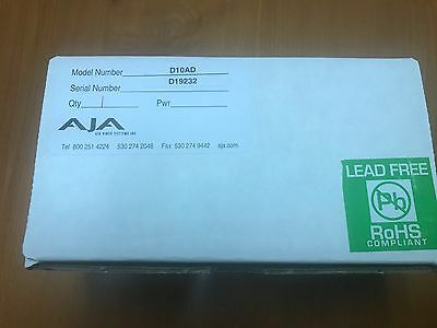 AJA D10AD Component or Composite Analog to SDI Converter - NEW!