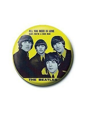 The Beatles Badge - All You Need is Love CLEARANCE SALE