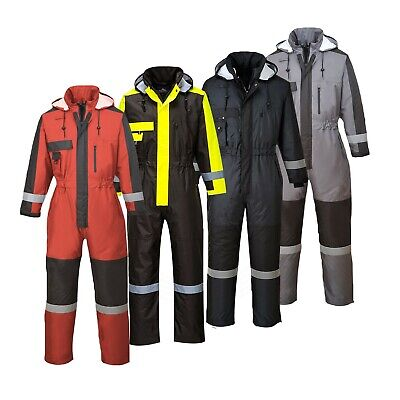 Winter Padded Waterproof Insulated Winter Coverall Boiler Suit Portwest S585