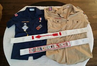 Boy Scout Order of the Arrow Ordeal Sash Patch Delaware Valley Iroquois Shirt