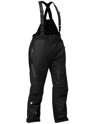 Castle X Mens Fuel G6 Waterproof Snowmobile Riding Winter Sports Snow Pant Black