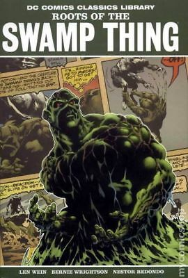 Roots of the Swamp Thing HC (2009 DC Library) #1-1ST VF STOCK IMAGE