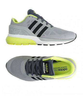 separation shoes 22cec 3a756 Adidas Neo Cloudfoam Flow (AW4898) Athletic Sneakers Running Shoes Trainers