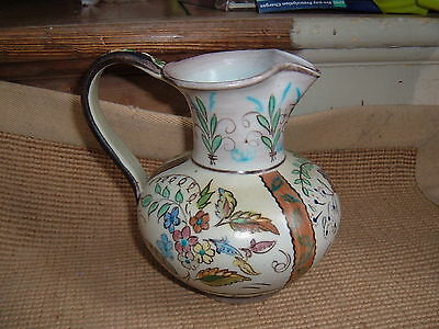 Denby Studio Glyn  Colledge  Unusual Design Signed Stoneware Jug