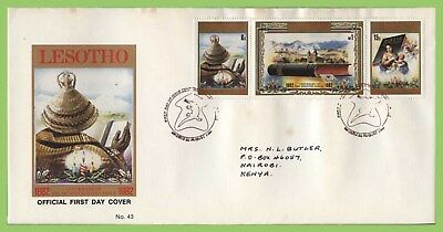 Lesotho 1982 Centenary of Sesotho Bible set First Day Cover