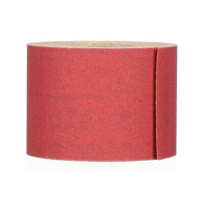 3M Red Abrasive Stikit Continuous Sheet Rolls 400 Grit 2-3/4 x 25 yard
