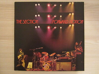 LP /  The Section ‎– Forward Motion / MUSTERPRESSUNG / 1973 / Jazz, Rock  / RAR