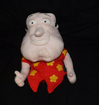 Rare Glen QuagMire Family Guy Golf Head Driver Cover Plush Puppet Clean and Nice