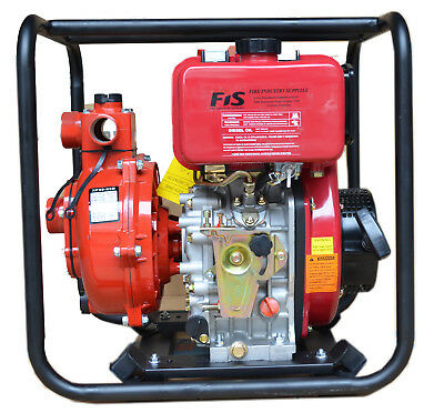 """Diesel Fire Water Pump 6 Hp. Excellent Quality.Twin Impeller """"Fire Water Pump"""""""