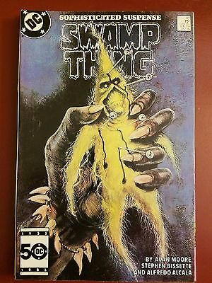 SWAMP THING #41, 43 & 48 (1985) DC COMICS WRITTEN by ALAN MOORE! 1ST PRINTS!