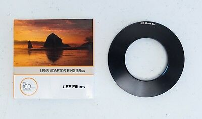 LEE Filters 58mm Standard Adaptor Ring - FREE SHIPPING