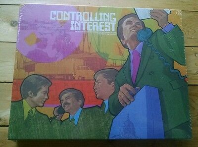 Vintage 1972 Controlling Interest Board Game New Sealed Corner the Stock Market!