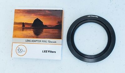 LEE Filters Wide Angle 72mm Adapter Ring- Free Shipping