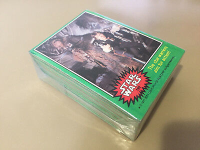 Star Wars Series 4 (Green) - Complete Card Set (199-264) 1977 @ Near Mint