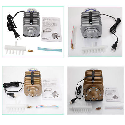 SUNSUN 317-2378GPH O2 Electric-Magnetic Oxygenation Commercial AirPump Fish Pond