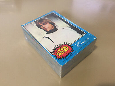 Star Wars Series 1 (Blue) - Complete Card Set (1-66) 1977 @ Excellent / EX +