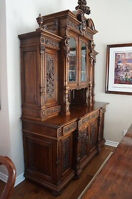 Antique French Circa 1890's Buffet from the famed Steven Thomas Antiques