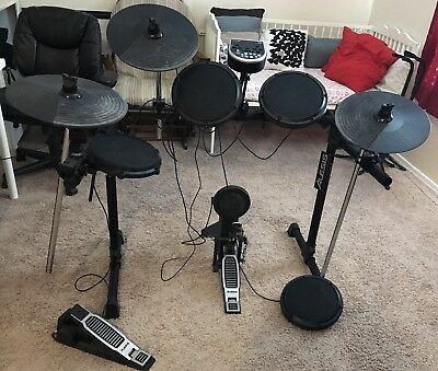 Alesis DM6 Electric Drum Set With 2drum Sticks roland pd 125 electronic digital drum head pad trigger dual zone alesis dm6 wiring harness at bayanpartner.co