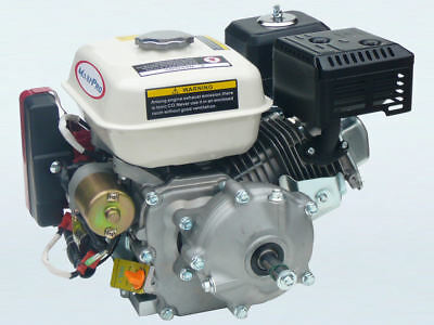 6.5hp Electric Start Petrol Stationary Engine with 6:1 Reduction, 19mm Shaft