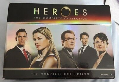 Heroes The Complete DVD Collection Seasons 1, 2, 3 and 4 Universal Boxset