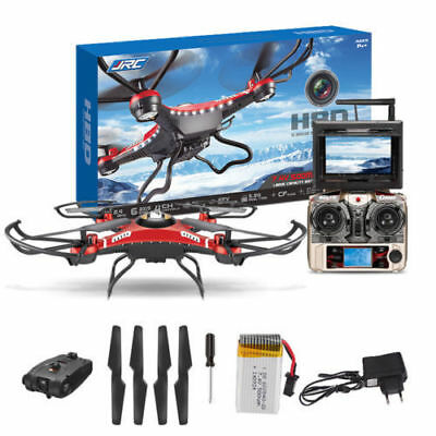 FPV JJRC H8 6-Axis Gyro RC Quadcopter Drone 5.8G HD Camera + Monitor+Battery