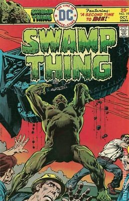 Swamp Thing (1972 1st Series) #19 VF STOCK IMAGE