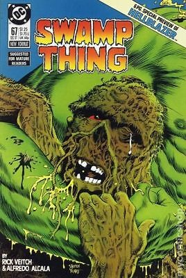 Swamp Thing (1982 2nd Series) #67 VF STOCK IMAGE