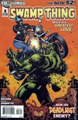 Swamp Thing (2011 5th Series) #3 VG STOCK IMAGE LOW GRADE