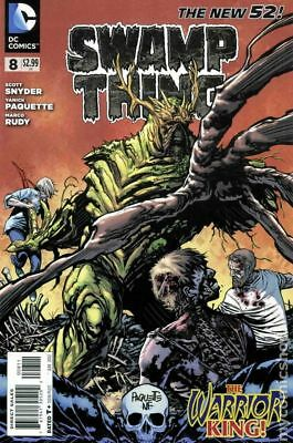 Swamp Thing (2011 5th Series) #8A VF STOCK IMAGE