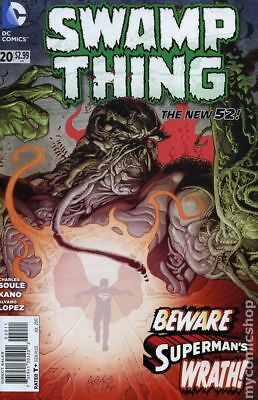 Swamp Thing (2011 5th Series) #20 VF STOCK IMAGE