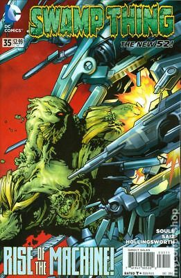 Swamp Thing (2011 5th Series) #35 VF STOCK IMAGE